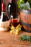 Italian red wine Royalty Free Stock Images