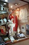 Italian religious clothing store Stock Image