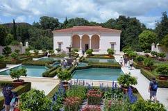 Italian Renaissance Garden in Hamilton Gardens - New Zealand royalty free stock photos
