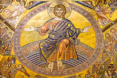 Italian Renaissance: St. John baptistery, Florence. Stock Image