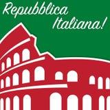 Italian Republic Day Stock Photography