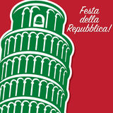 Italian Republic Day! Royalty Free Stock Image