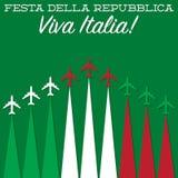 Italian Republic Day! Royalty Free Stock Photography