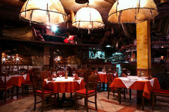 Italian restaurant royalty free stock images