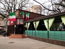 Italian restaurant stock images
