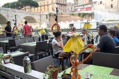 Italian restaurant Royalty Free Stock Photos