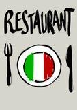 Italian restaurant Royalty Free Stock Photography