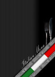 Italian Restaurant Menu Design Royalty Free Stock Image