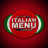 Italian Restaurant Menu Design Royalty Free Stock Images
