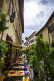 Italian Restaurant,pizzeria And Trattoria,Florence.Tuscany. Stock Image