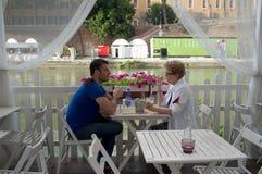 Italian restaurant Stock Photos