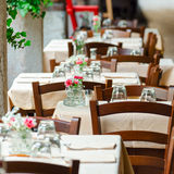 Italian Restaurant Royalty Free Stock Images