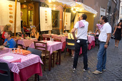 Italian restaurant Stock Photos