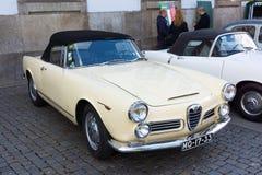 Italian retro cars Stock Images