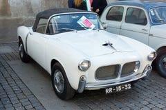 Italian retro cars Royalty Free Stock Photo