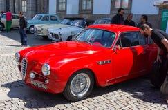 Italian retro cars Royalty Free Stock Photography