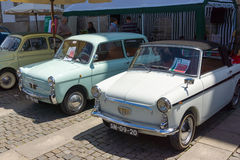 Italian retro cars Stock Image