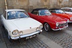 Italian retro cars Stock Photos