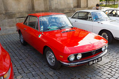 Italian retro cars Royalty Free Stock Photography