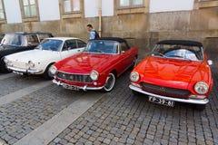 Italian retro cars Royalty Free Stock Photos