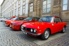 Italian retro cars Stock Photography