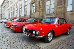 Italian retro cars Stock Photography