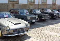 Italian retro cars Stock Photo