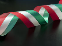 Italian ribbon Royalty Free Stock Images