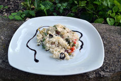 Italian rice salad Royalty Free Stock Photo