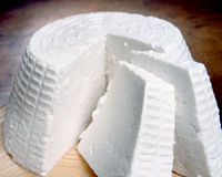 Italian ricotta cheese Royalty Free Stock Images