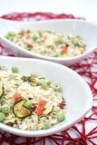 Italian Risotto with vegetables Royalty Free Stock Image
