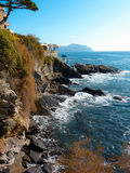Italian Riviera Stock Image
