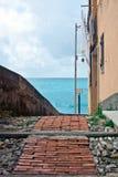 Italian Riviera alley Royalty Free Stock Photography