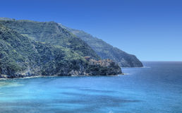 Italian Riviera in Cinque Terre National Park Royalty Free Stock Images