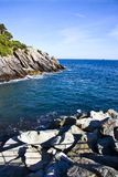 Italian riviera coast Royalty Free Stock Images