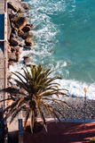 Italian Riviera Landscape Royalty Free Stock Photo