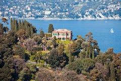 Italian Riviera Villa Royalty Free Stock Images