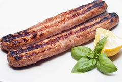 Italian roasted sausage Royalty Free Stock Photos