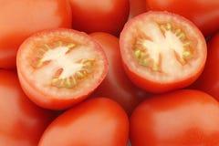 Italian roma tomatoes background Stock Photography