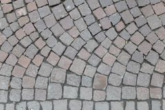Italian Roman Paving Stock Photo
