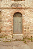 Italian front door Royalty Free Stock Photo