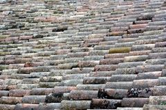 Italian roof tile Royalty Free Stock Images