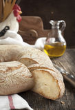 Italian round bread Royalty Free Stock Image