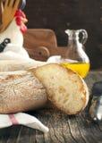 Italian round bread Stock Image