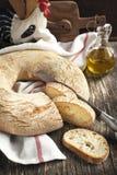 Italian round bread Royalty Free Stock Image