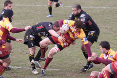 Italian Rugby Federation Cup Match Royalty Free Stock Photos
