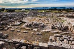 Italian ruins royalty free stock photography