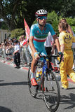 Italian runner Vincenzo Nibali Royalty Free Stock Photography