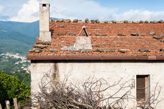 Italian rural house Royalty Free Stock Image