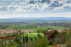 Italian rural landscape Royalty Free Stock Photography